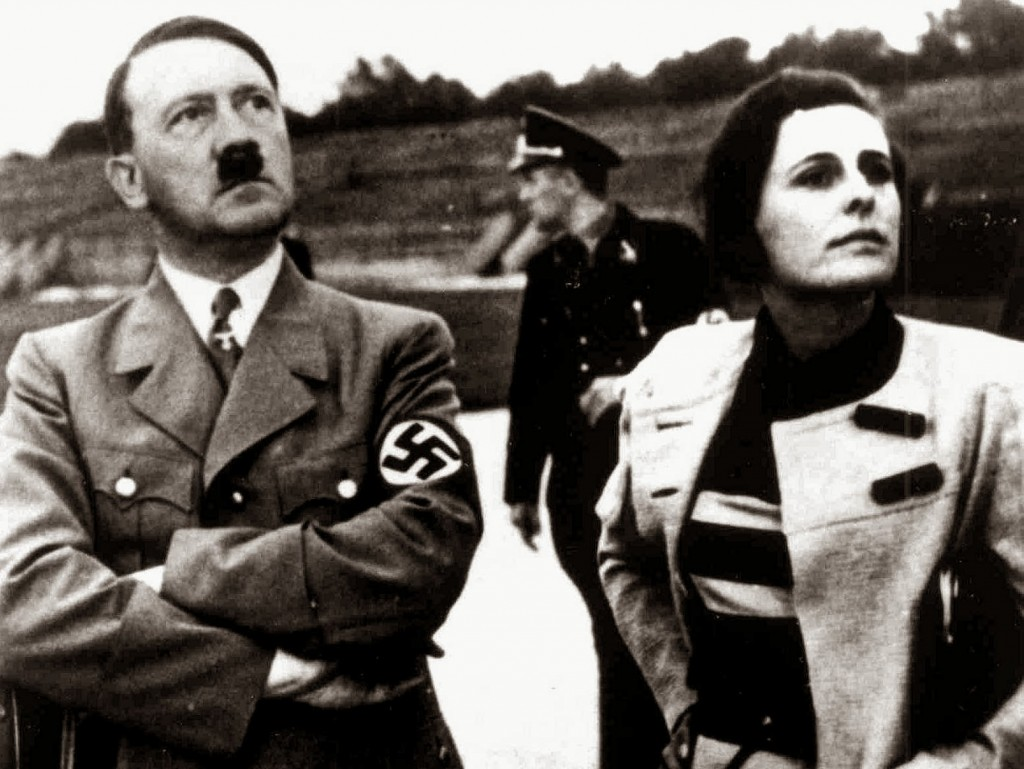 Adolf Hitler and Leni Riefenstahl - Film in the Third Reich - Deutschland - Third Reich