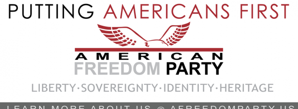 American Freedom Party: Sean Donahue (4-23-15)