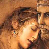 Emperor Cyrus the Great and Empress Amitis