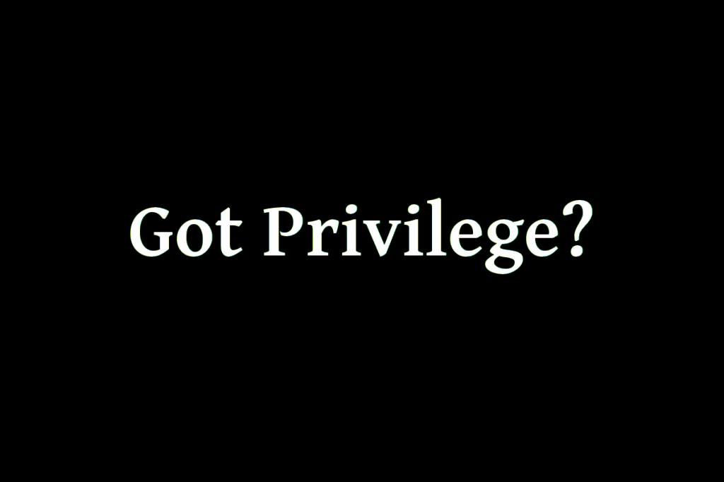 Got Privilege?1