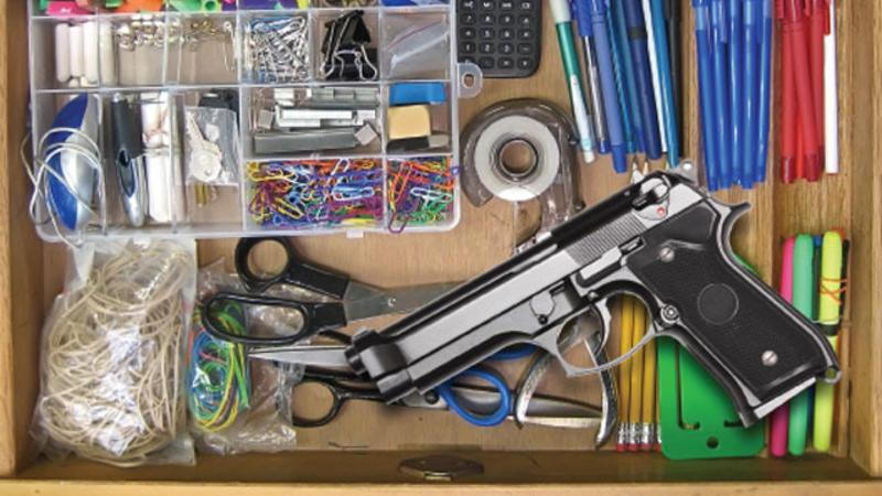 Gun-in-the-drawer