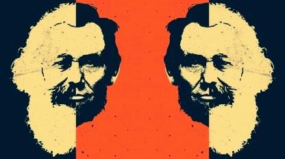 Karl Marx & Abraham Lincoln ✆ 1 © Ñángara Marx