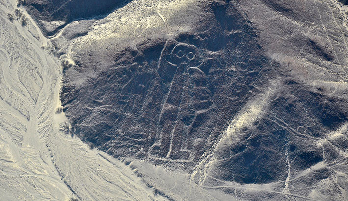Nazca-Astronaut