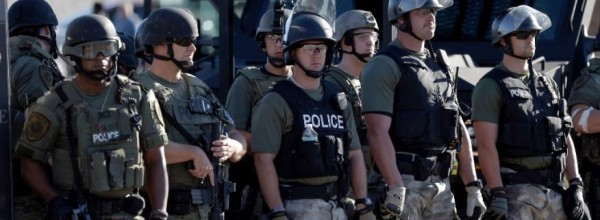 The Race War in Ferguson 8-14-14
