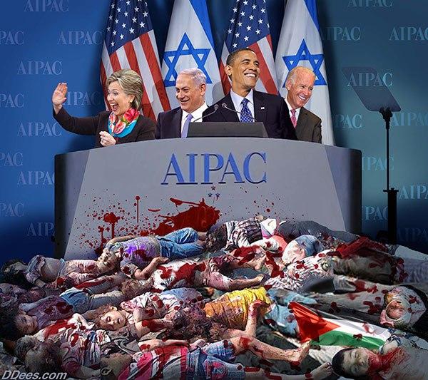 aipac-clinton-netanyahu-obama-biden
