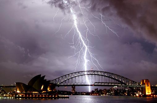 australian lightning