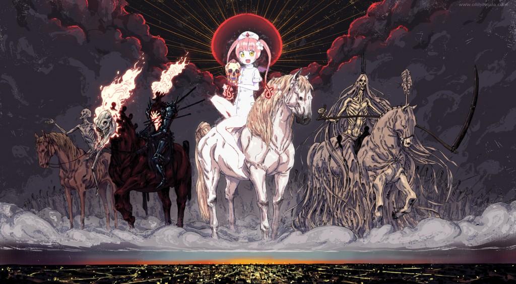 ebola chan horsewoman