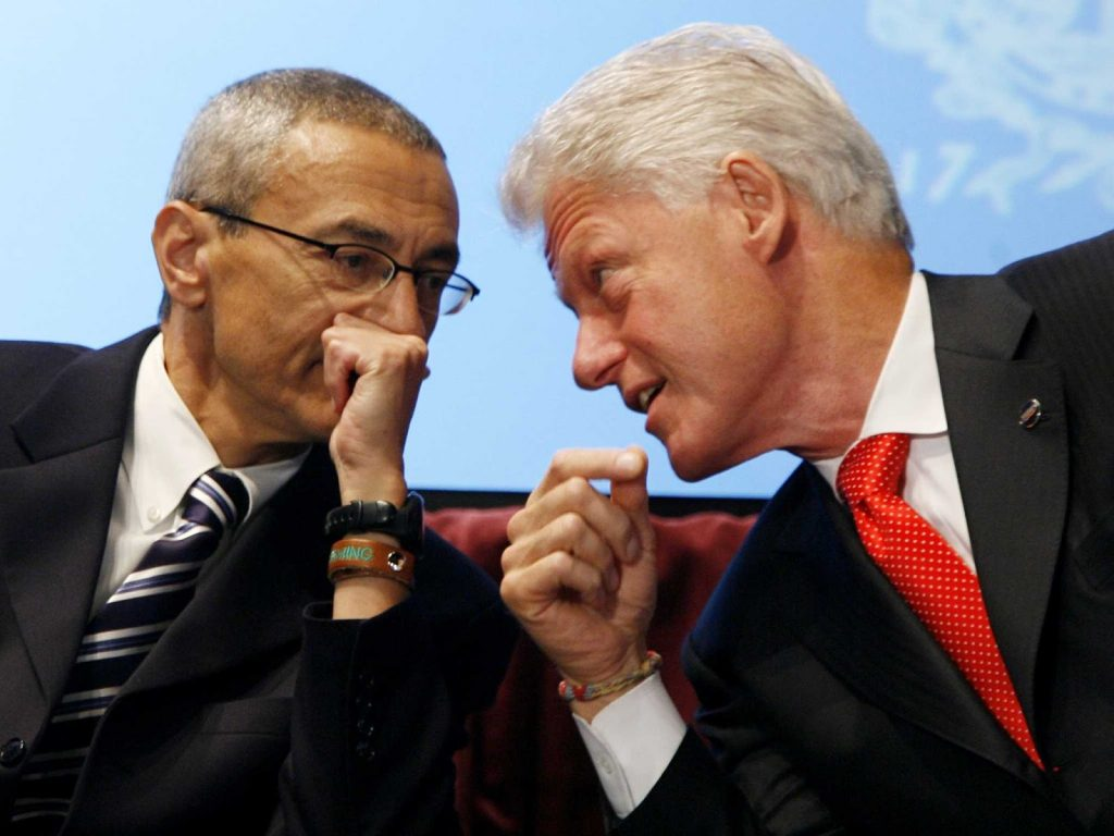podesta-bill-clinton