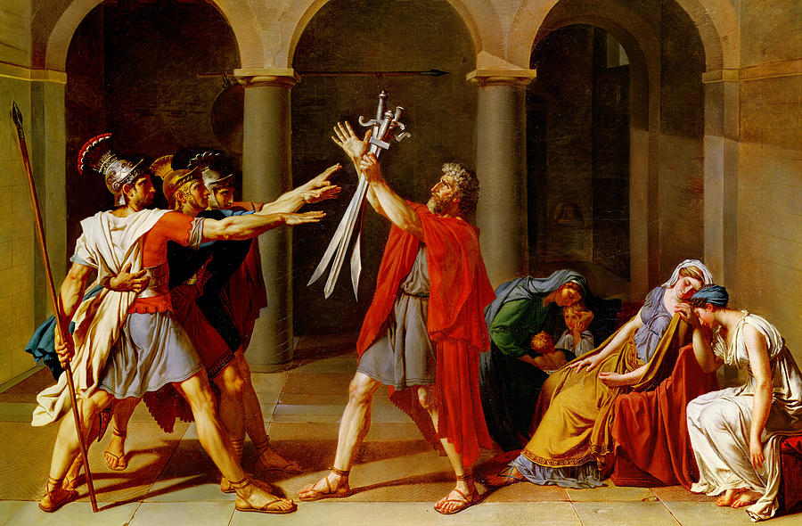 Analysis of Davids Oath of the Horatii