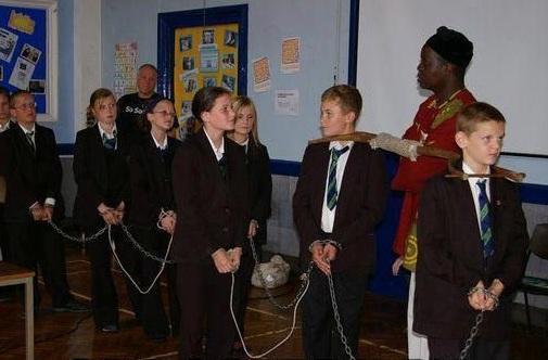 white slavery school